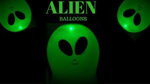 halloween led balloons alien balloons light up balloons youtube