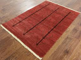 4 X 6 Area Rugs 4 X 6 Oriental Gabbeh Handmade Area Rug