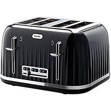 amazon black friday discounts toasters morphy richards accents four slice toaster black amazon co uk
