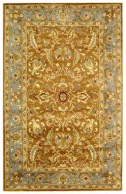Blue And Gold Rug Safavieh Heritage Hg812a Brown And Blue Area Rug Free Shipping