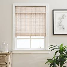 White Bamboo Curtains Arlo Blinds Whitewash Bamboo Shade Free Shipping On Orders
