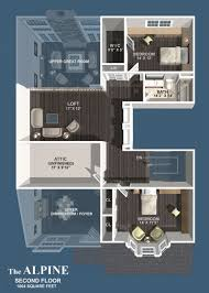 mountainside home floor plans