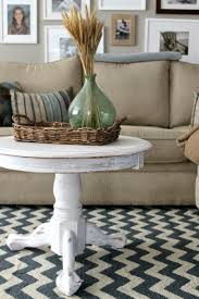 grace lee cottage refreshing our living room tables with chalk paint