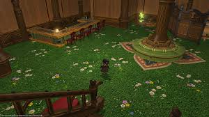 arbor flooring in fc house looks and sounds like grass ffxiv