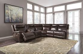 antique power reclining sectional