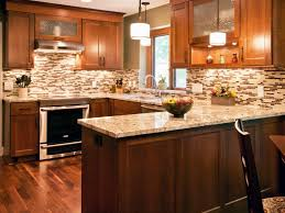 Kitchen Backsplash Cherry Cabinets Kitchen Stone Backsplash Ideas With Dark Cabinets Beadboard Baby