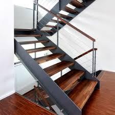 treppen stahl holz kombination holz stahl treppen treppenbau holztreppen