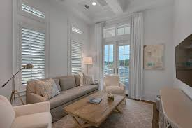 Beach House Family Room Design Ideas - Family room size