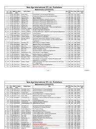 new age mathematics catalogue 2013 2014 mathematical analysis