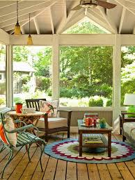 Patio Decorating Ideas Pinterest Best 25 Screened Porches Ideas On Pinterest Screened In Deck