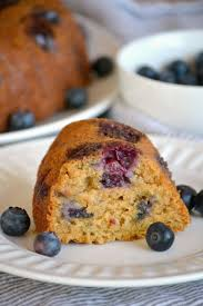 eggless blueberry coriander bundt cake
