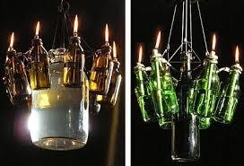 Glass Bottle Chandelier Bottles Chandelier U2022 Recyclart