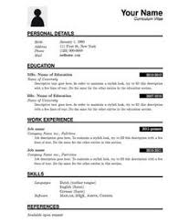 Free Resume Templates Pdf by Resume Format Pdf For Freshers Professional Resume Formats