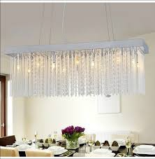 Light Fixtures Dining Room Ideas Trend Rectangular Chandelier Dining Room 75 In Small Home Remodel