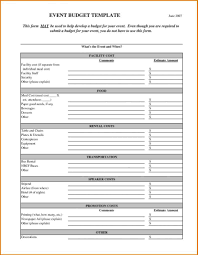 Event Budget Template Excel Event Planning Spreadsheet Template Haisume