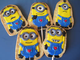 valentine u0027s minion despicable cookie pops dolce ladybug