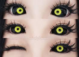 review sclera lenses lensmam hollow eyes one punch man
