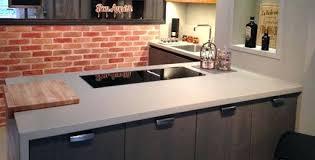 beton ciré cuisine plan travail beton cire plan de travail cuisine plan travail beton cire