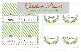 printable name place cards christmas printable place cards pinkwhen