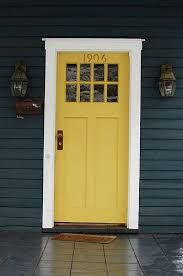 blue house white trim front door the perfect paint schemes for house exterior yellow front doors