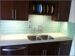 Kitchen Backsplash Tile Ideas Subway Glass White Subway Tile Backsplash With Black Countertops Amys Office