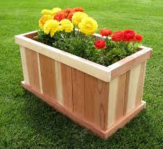 Wood Planter Box Plans Free by Best 25 Rectangular Planter Box Ideas On Pinterest Rectangular