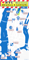 New York Tourist Attractions Map by Maps Of New York Top Tourist Attractions Cool Map Nyc With