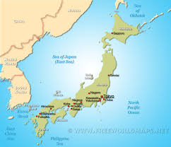 Asia On Map by Map Of Japan U2013 Israa U0026 Mi Raj Net