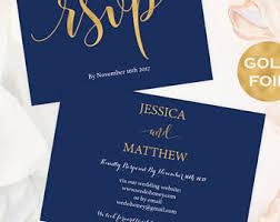 Wedding Rsvp Websites Wedding Rsvp Online Navy And Rose Gold Rsvp Rsvp Cards