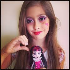 monsterhigh halloween costumes maquiagem halloween make up draculaura monster high makes and