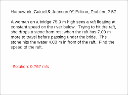 b what is the highest point he reaches above the water solutions a