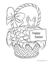 easter basket with eggs coloring page 36 best easter coloring pages images on pinterest easter