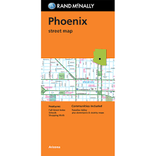 Downtown Phoenix Map by Folded Maps Phoenix