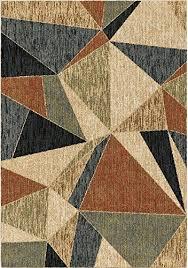 orian rugs orian rugs plush geo glass shard multi area rug 7 u002710