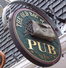 the old bag of nails pub worthington ohio pictorial pub signs