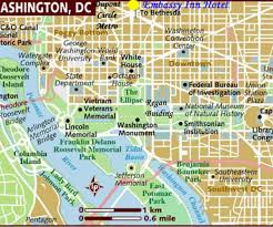 Maps Update 21051488 Washington State by Washington Dc Map Landmarks