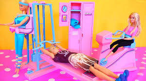 Barbie Dream Furniture Collection by Barbie And Ken Go To The Gym Barbie Toys With Workout Center