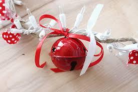 diy garland jingle bell crafts unleashed