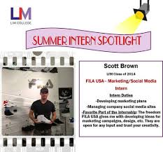 Summer Entertainment Internships - summer internship fila the journal
