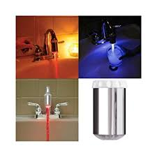led kitchen faucet temperature controlled faucet light touch on kitchen sink