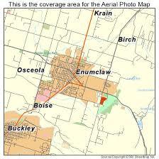 enumclaw wa map aerial photography map of enumclaw wa washington