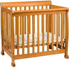 Oak Convertible Crib by Davinci Kalani 2 In 1 Mini Crib Espresso Walmart Com