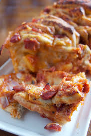 ham u0026 pineapple pizza pull apart bread red star yeast