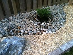 garden design with river rock garden ideas gokitchen with plant