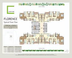 courtyard floor plans wadhwa courtyard mumbai floor plans