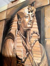 mural mural on the wall hand painted murals by paula litchfield egyptian themed night club