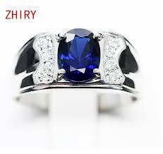 blue man rings images Design for men genuine blue sapphire men 39 s ring in 18kt white gold jpg