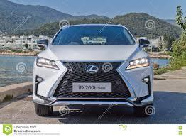 lexus lx 2016 drive test lexus rx 200t f sport 2016 test drive day editorial photo image