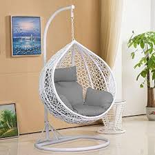 Patio Chair Swing Best 25 Hanging Egg Chair Ideas On Pinterest Outdoor Hanging