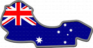 Pictures Of The Australian Flag Formula 1 Red Race Australian Car By Bluedarkat Graphicriver
